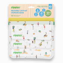 Zippies Bags With A Mission - Green Vibes (Fundraising SKU) 3s by Zippies