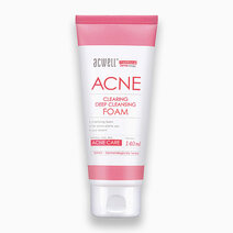 Re acne clearing deep cleansing foam