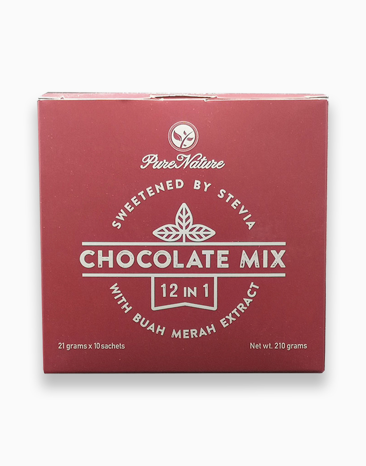 12-in-1 Chocolate Mix (21g x 10 sachets) by Pure Nature