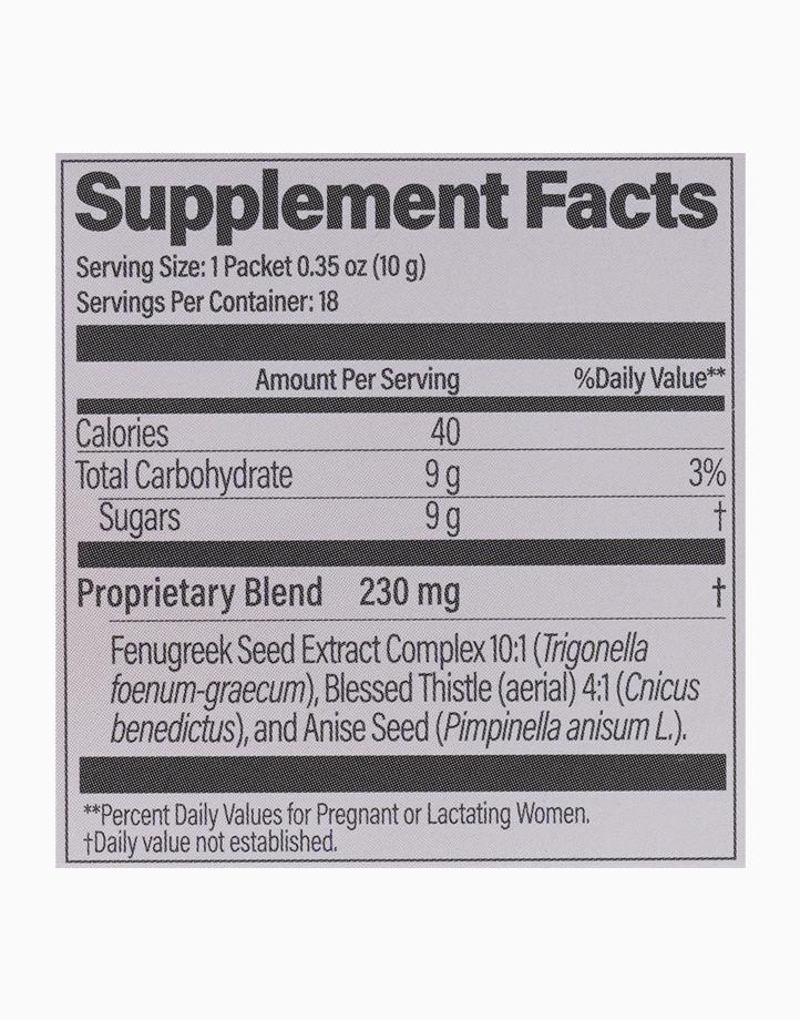 Milkflow Fenugreek + Blessed Thistle Berry Breastfeeding Supplement Drink (18 Packs) by UpSpring
