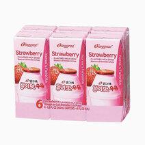 Binggrae strawberry flavored milk 200ml %28pack of 6%29