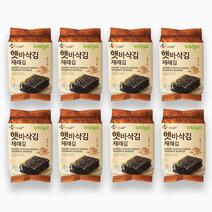 Cj foods bibigo seaweed snack 5g x 8