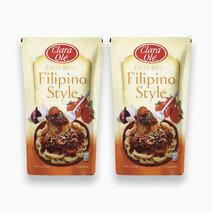 Clara ole filipino style spaghetti sauce 1kg %28pack of 2%29