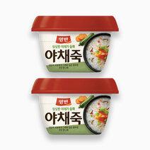Dongwon vegetable porridge 288g %28pack of 2%29