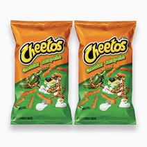 Frito lay cheetos cheddar jalapeno crunchy chips 226.8g %28pack of 2%29