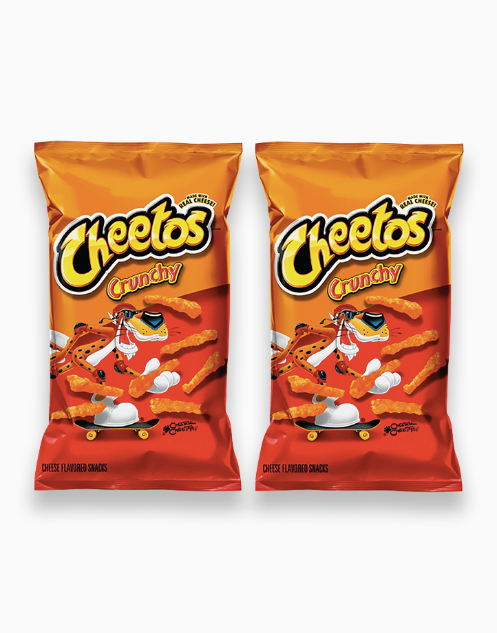 Cheetos Crunchy Chips 226.8g (Pack of 2) by Frito Lay