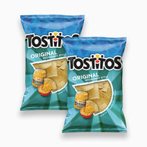 Frito lay tostitos original white corn chips 283.5g %28pack of 2%29