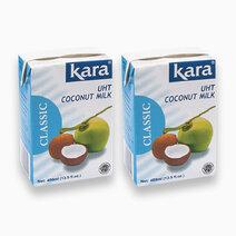 Kara UHT Coconut Milk 400ml (Pack of 2) by Kara
