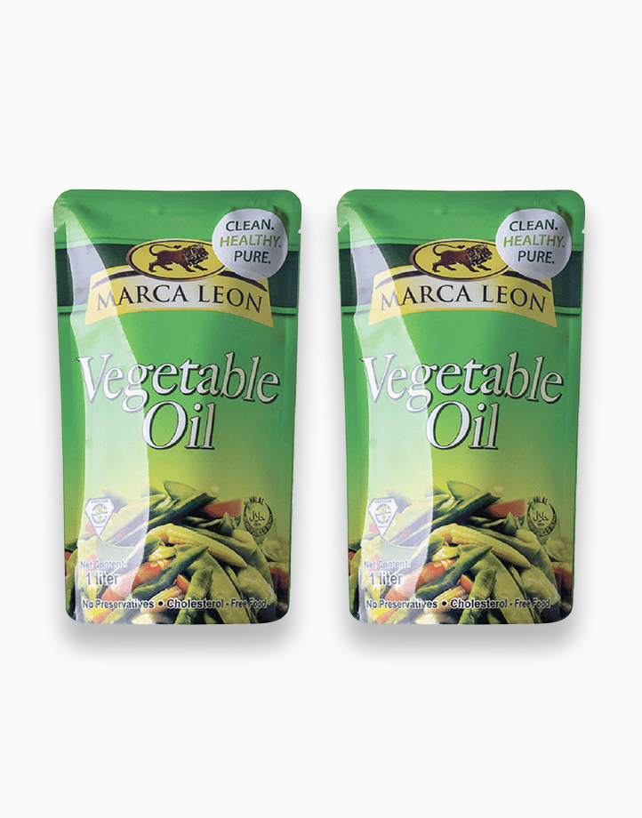 Marca Leon Vegetable Oil 1L (Pack of 2) by Marca Leon