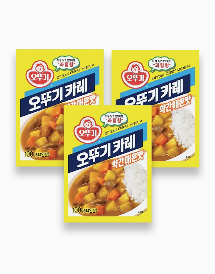 Ottogi Curry Powder (MEDIUM) 100g (Pack of 3) by Ottogi