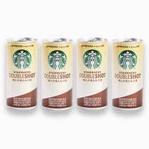 Starbucks doubleshot espresso cream 200ml %28pack of 4%29