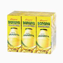 Binggrae banana flavored milk 200ml %28pack of 6%29