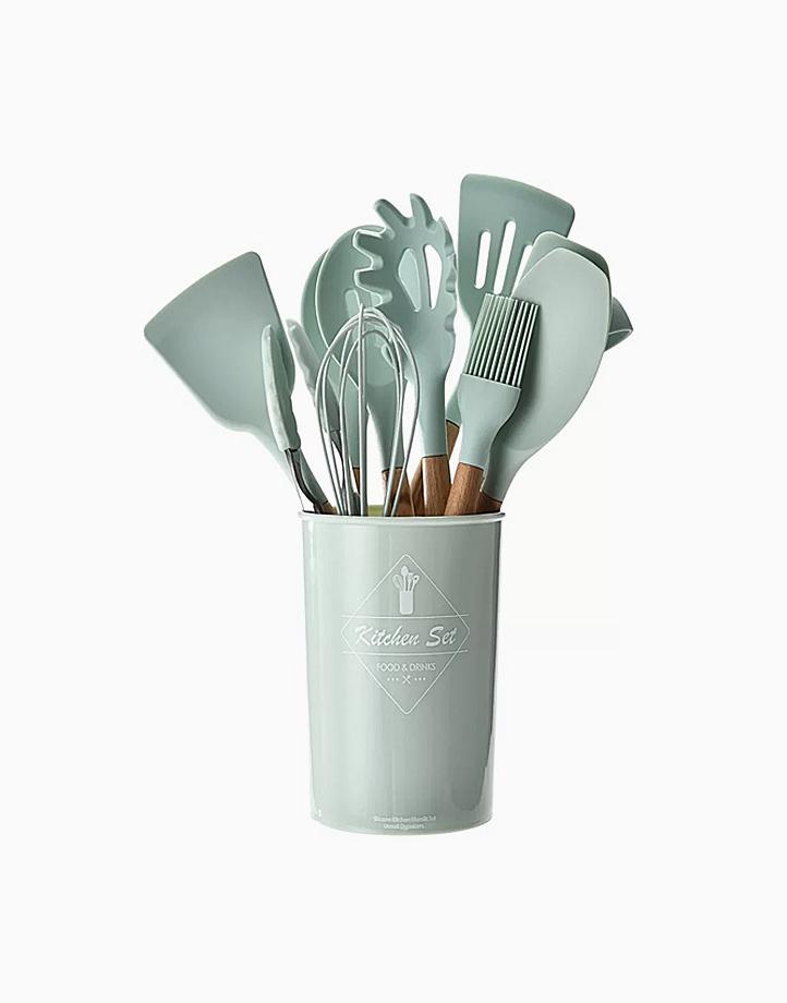 Kitchen Utensils Set (12 Pcs.) by Cozzina   Mint Green