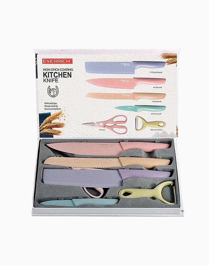 Pastel Knife Set by Cozzina