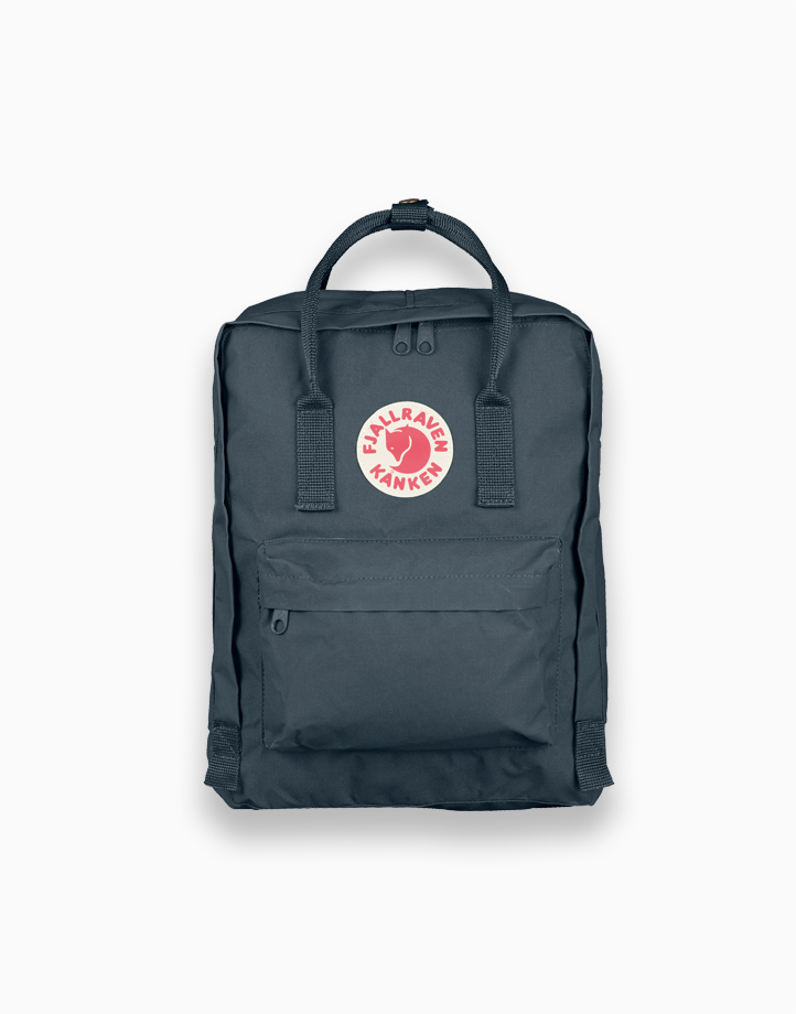 Backpack in Graphite by Fjallraven Kanken