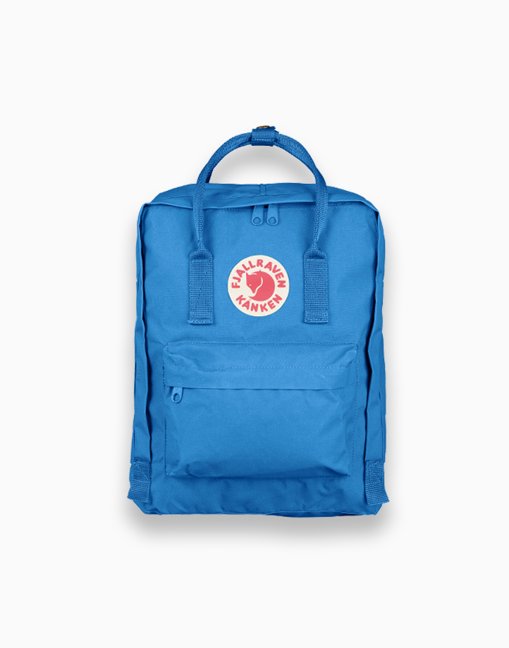 Backpack in UN Blue by Fjallraven Kanken