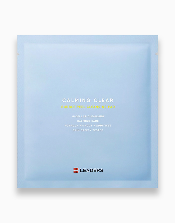 Calming Clear Bubble Peel Cleansing Pad (1 pc.) by Leaders InSolution