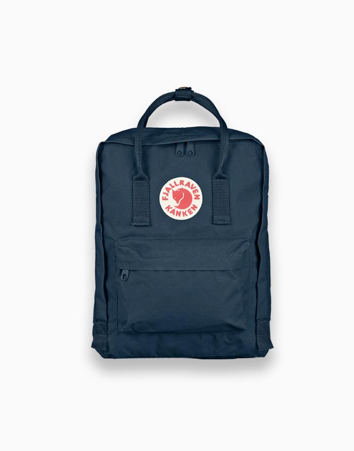 Backpack in Navy by Fjallraven Kanken