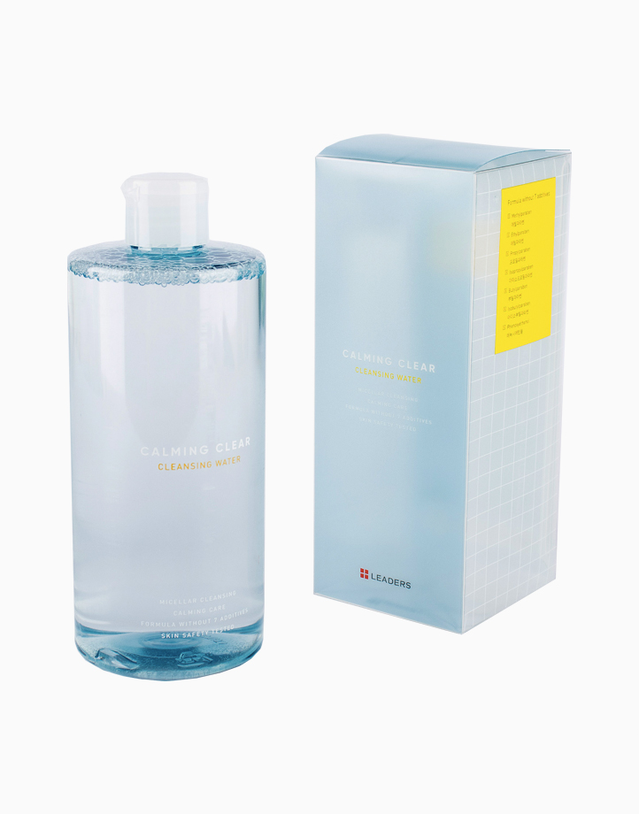 Calming Clear Cleansing Water by Leaders InSolution