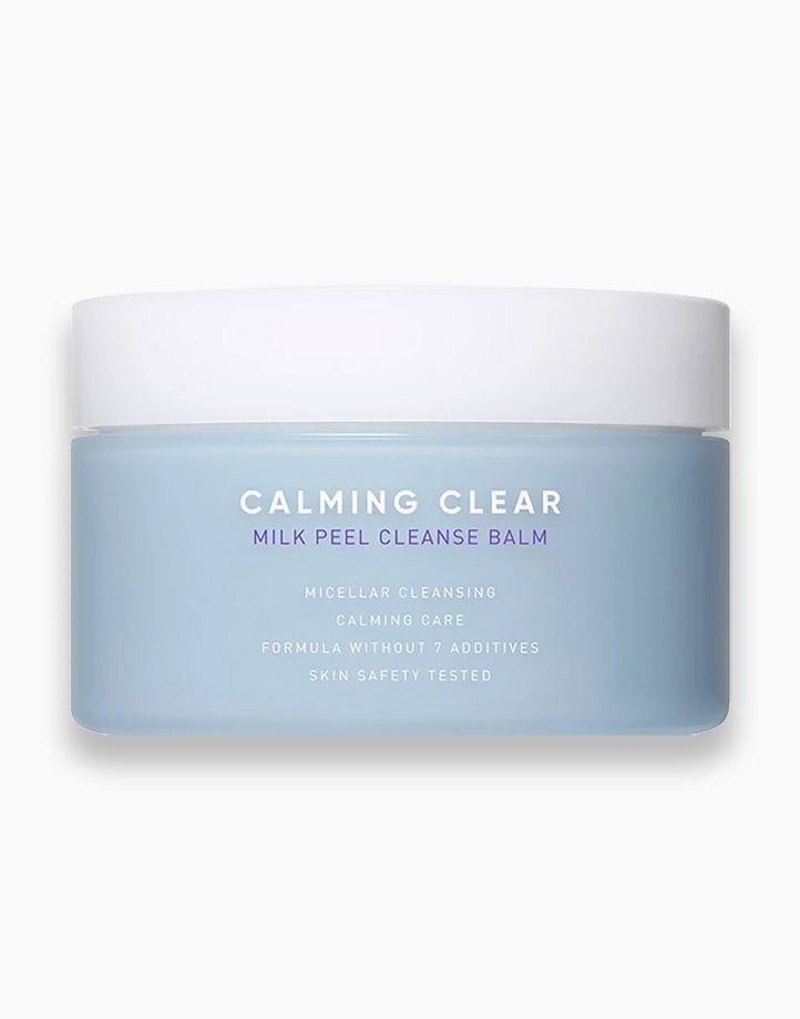 Calming Clear Milk Peel Cleanse Balm by Leaders InSolution