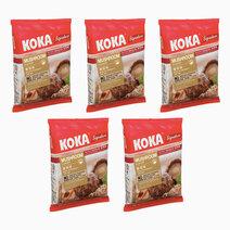 Mushroom Flavor Instant Noodles (85g x 5) by Koka