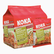 Koka spicy singapore fried flavor 85g x 5