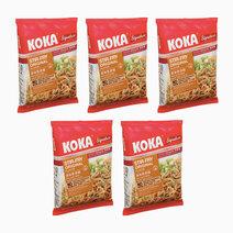Stir Fry Original Flavor Instant Noodles (85g x 5) by Koka