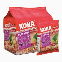 Tomyum Flavor Instant Noodles (85g x 5) by Koka