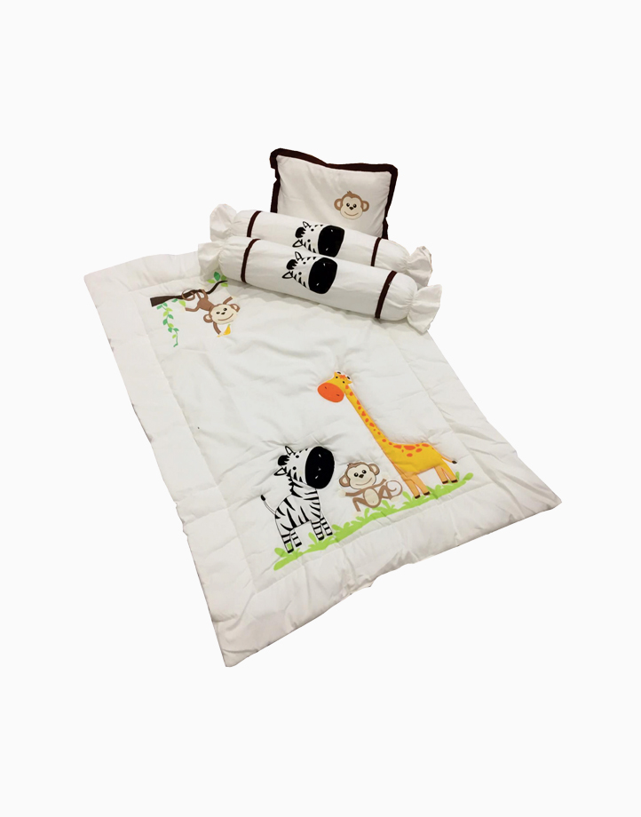 Comforter Set by Kozy Blankie | Happy Zoo