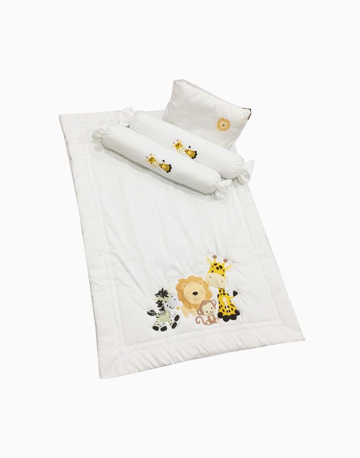 Baby Comforter Set by Kozy Blankie   Giraffe and Friends