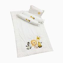 Baby comforter set giraffe and friends