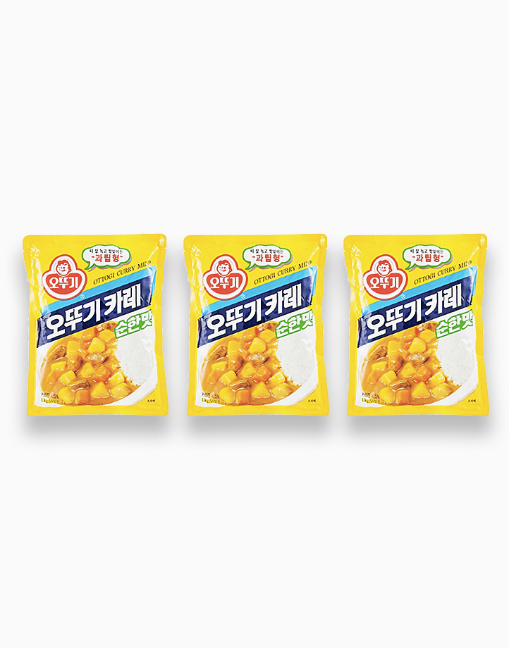 Ottogi Curry Powder (Mild) 100g (Pack of 3) by Ottogi