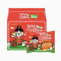 Samyang Hot Kimchi Flavor 140g x 5 by Samyang
