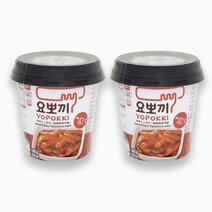 Yopokki sweet n spicy cup 140g %28pack of 2%29