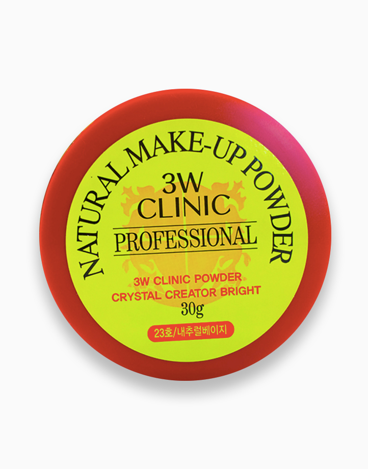Natural Make-Up Powder (#23 Natural Beige) by 3W Clinic