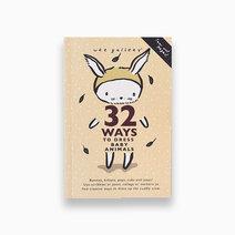 32 ways activity dress up book baby animals