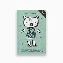 32 ways activity dress up book nordic animals