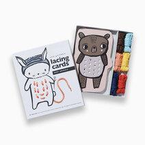 Baby animals lacing cards 4
