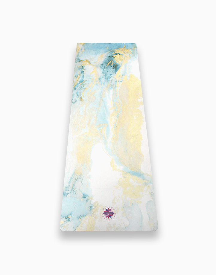 Olivine Suede Yoga Mat by Willow Athletica