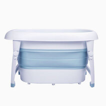 Collapsible wash   play tub blue 1