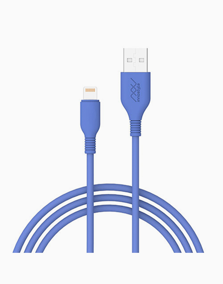 Jazzy USB-A to Lightning Cable 1.5m by Innostyle | Lt Blue