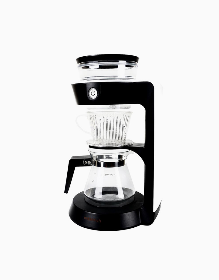 Automatic Pour Over Coffee Maker Single Wall Carafe by Oceanrich | White