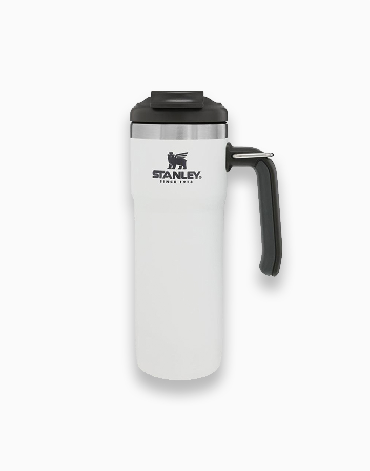 Classic Vacuum Lock Mug (20oz / 591ml) by Stanley | Polar White