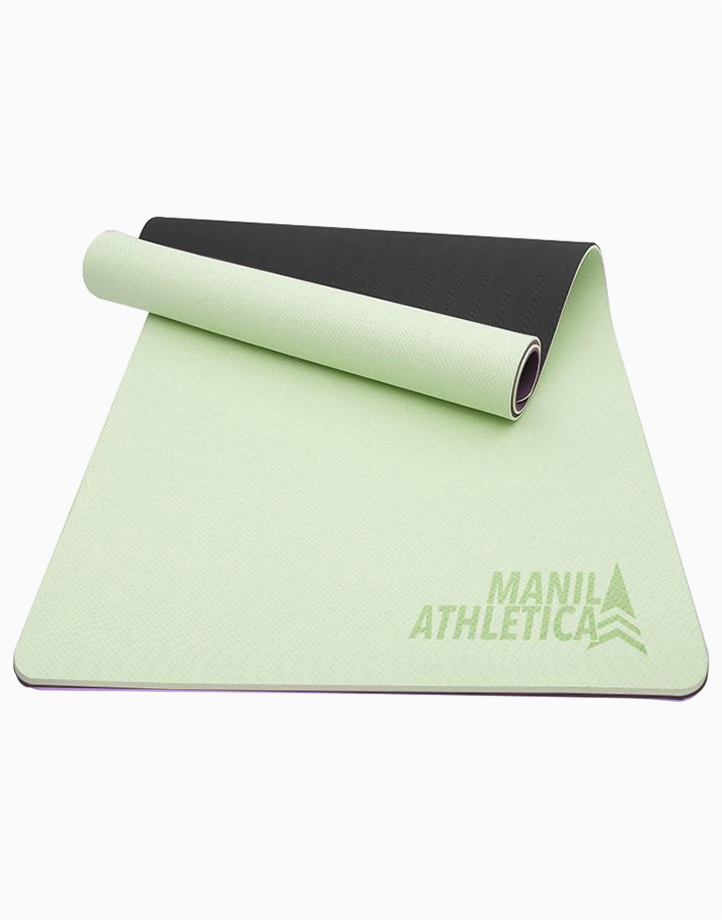 Dual Power Exercise Mat (Standard) by Manila Athletica | Matcha + Black