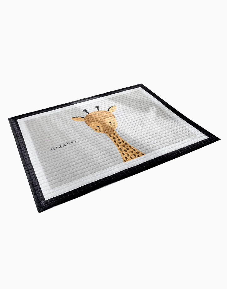 Quilted Non Skid Playmat by Lulubabyph | Giraffe