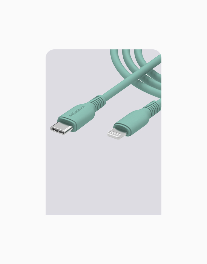 Jazzy USB-C to Lightning Cable 1.2m by Innostyle | Aqua