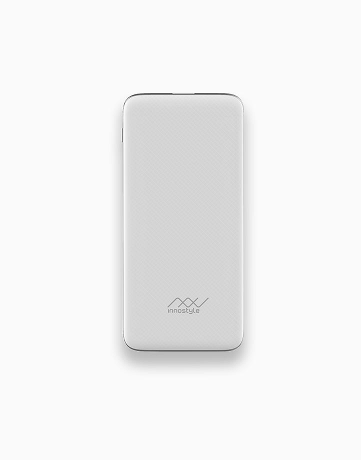 PowerGo Plus PD/QC 10000mAh 18W Powerbank by Innostyle   White