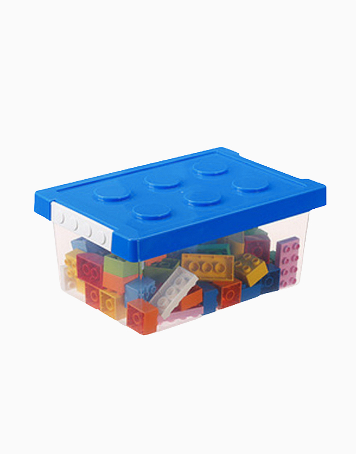 20L Stackable Brick-like Boxes (Blue) by Neetly