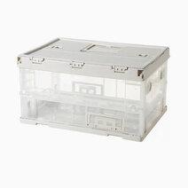 Shimoyama small foldable storage bin box 1