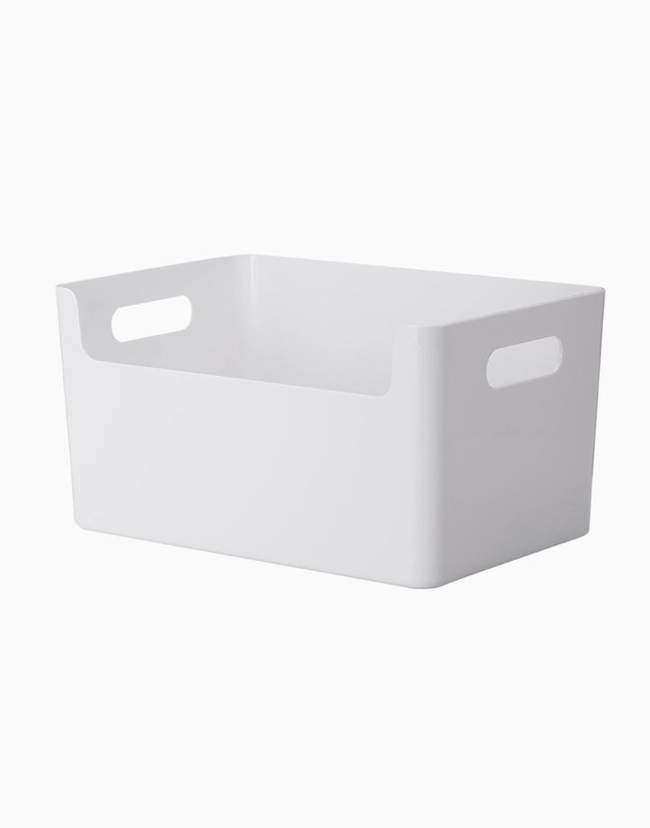 Shimoyama Plastic Storage Box With Handle (Large) by Simply Modular